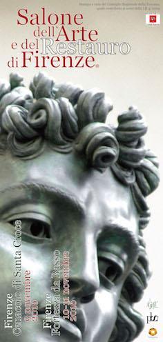 Invito V edizione del Salone dell'Arte e del Restauro di Firenze