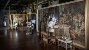 Presentazione del restauro dell'Ultima cena di Giorgio Vasari
