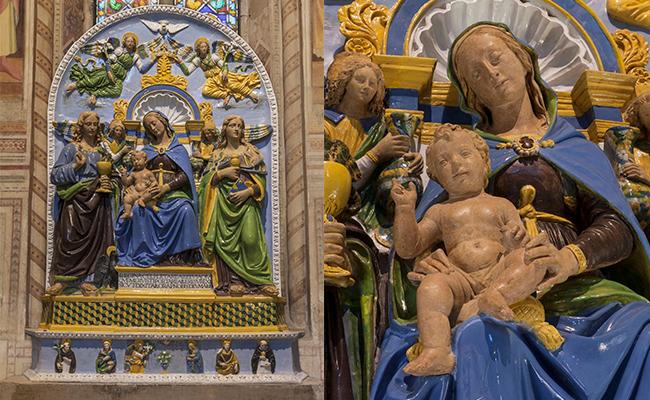 """""""Madonna col Bambino e i Santi""""  Restaurata grazie al Premio Friends of Florence – Salone dell'Arte e del Restauro di Firenze"""
